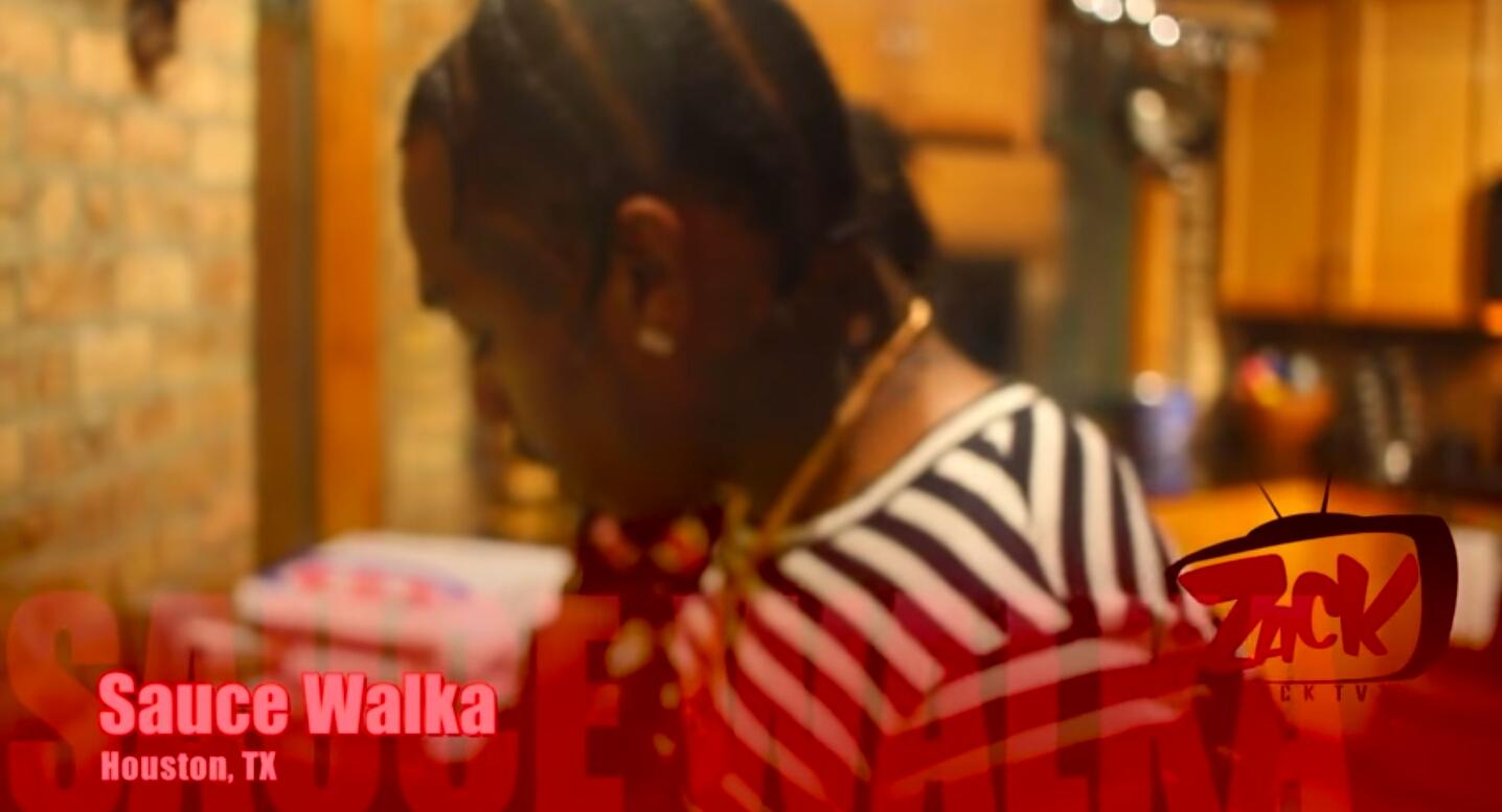 Sauce Walka Talks Banging Blood  | DJ Hermetic